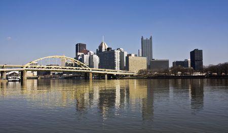 pittsburgh: Skyscrapers in Downtown Pittsburgh, Pennsylvania.