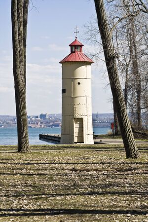 erie: Lighthouse in Erie - Eastern Pennsylvania