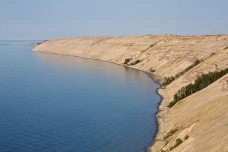 lakeshore: Dunes in Pictured Rocks National Lakeshore