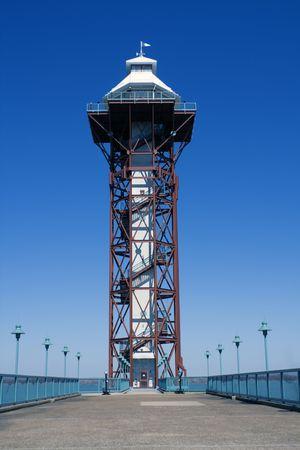 Tower in Erie, Pennsylvania, USA. Imagens