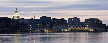 XXL Panorama of Madison, Wisconsin. Stock Photo - 5536438