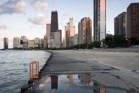 windy city: Amazing final del d�a en Chicago, IL.