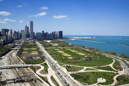 aon: Grant Park in Chicago, IL.