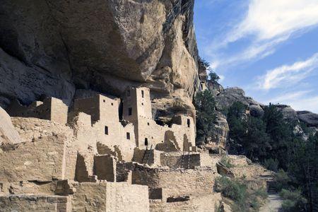 anasazi ruins: Mesa Verde National Park in Colorado
