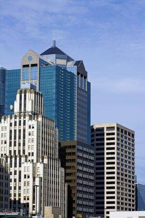 missouri: Skyscrapers in Kansas City, Missouri, USA. Stock Photo