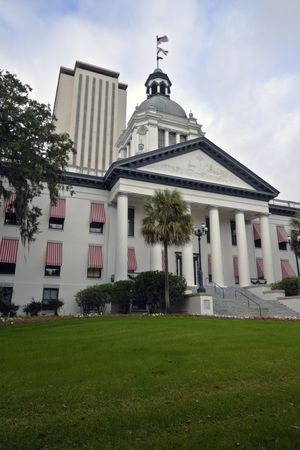 tallahassee: Tallahassee - state capitol of Florida. Stock Photo