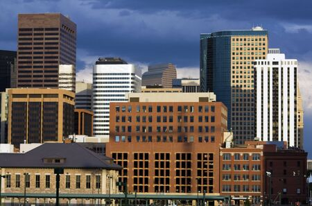 Afternoon in Denver, Colorado, USA. Stock Photo - 6064418