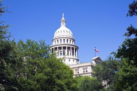 State Capitol of Texas in Austin. Stock Photo