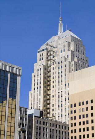 oklahoma city: Buildings in Oklahoma City, Oklahoma. Stock Photo
