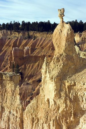 thor's: Thors Hammer - Bryce Canyon National Park Stock Photo