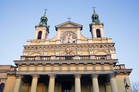 lublin: Cathedral in Lublin, Eastern Poland.