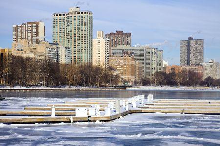 Winter by Gold Coast - Chicago, Illinois. photo