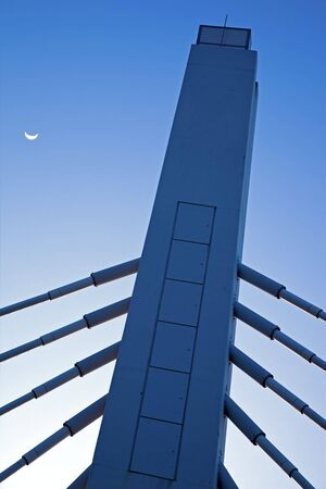 Bridge in Milwaukee, Wisconsin.