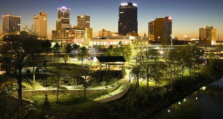 Night in Little Rock, Arkansas