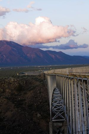 Rio Grande Gorge Bridge - New Mexico.