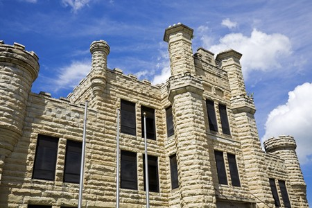 Historic Jail in Joliet, Illinois - suburb of Chicago. Stock Photo - 7493409