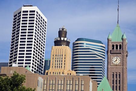 Colorful Buildings in Minneapolis, Minnesota. Stock Photo - 7488920