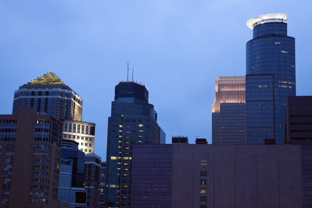 Modern Buildings in Minneapolis, Minnesota. Stock Photo - 7488885