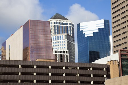 Colorful Buildings in Minneapolis, Minnesota. Stock Photo - 7488922