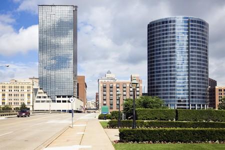 Architecture of Grand Rapids, Michigan, USA. Stock fotó - 7836080