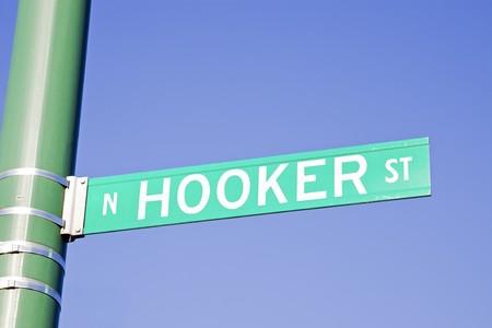 hooker: Hooker Street in Chicago