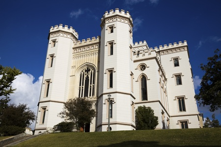 Old State Capitol of Louisiana in Baton Rouge