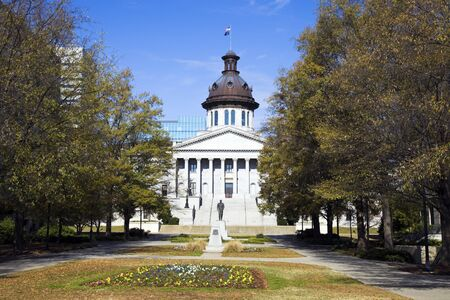 South Carolina - State Capitol Building 版權商用圖片