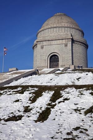 william: President William McKinley National Memorial Stock Photo