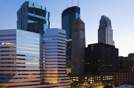 Downtown Minneapolis, Minesota Stock Photo