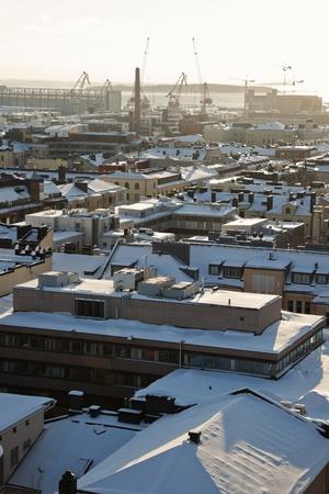 Harbour in Helsinki, Finland.