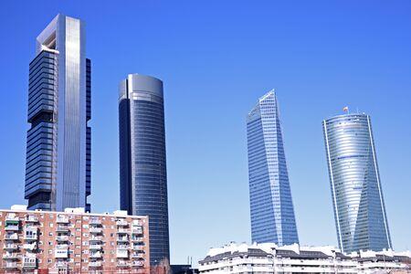 cuatro: Cuatro Torres Business Area in Madrid