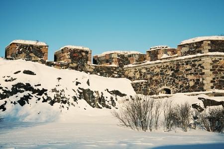 Suomenlinna Sea Fortress. Helsinki, Finland. Zdjęcie Seryjne