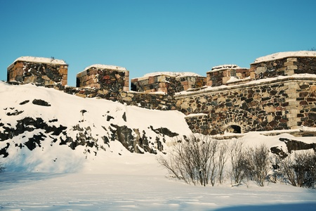 Suomenlinna Sea Fortress. Helsinki, Finland. Reklamní fotografie