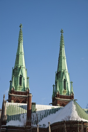 Johanneksenkirkko - church in Helsinki Reklamní fotografie