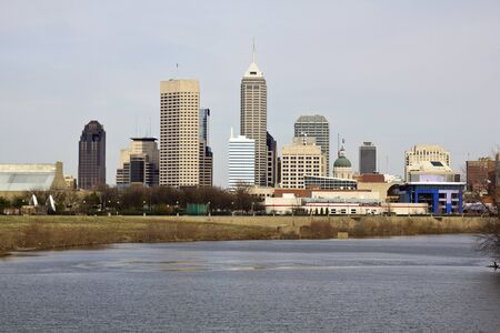 City of Indianapolis. Indiana, USA. Stock Photo - 9388409