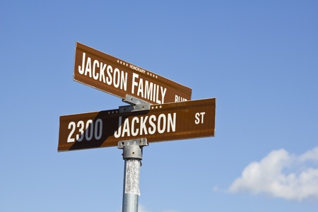 Michael Jacksons intersection in Gary, Indiana