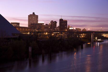 멤피스, 테네시, 미국의 시내