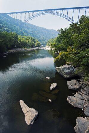 New River Gorge Bridge in West Virginia.