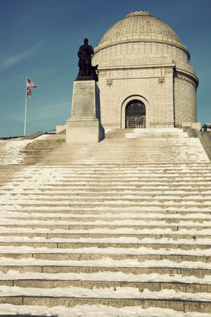 President William McKinley National Memorial in Canton, Ohio. Imagens