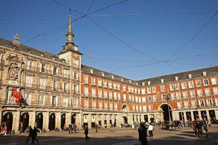 Plaza Mayor in Madrid, Spain. Stock Photo - 10052066