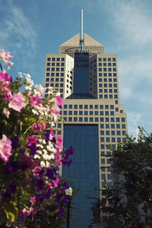 fifth: Fifth Avenue Place (Highmark) in Pittsburgh, Pennsylvania   Editorial