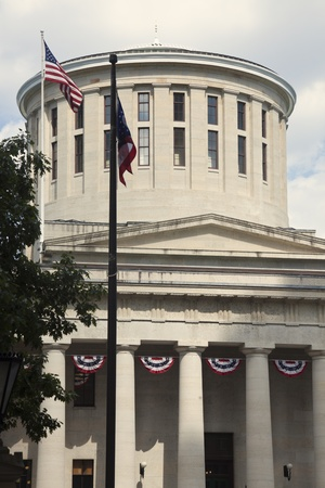 ohio: State Capitol Building in Columbus, Ohio, USA Stock Photo
