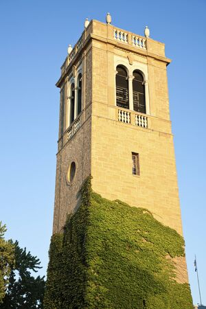 university of wisconsin: University of Wisconsin - historic tower in Madison. Stock Photo