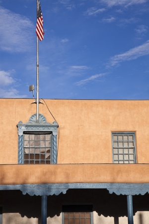 fe: Santa Fe County Administrative Offices in downtown of Santa Fe