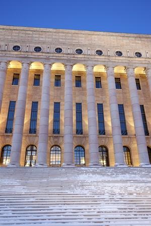 Parliament of Finland in Helsinki