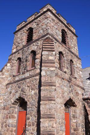 episcopal: St. Ambrose Episcopal - church in downtown of Antigo, Wisconsin. Editorial