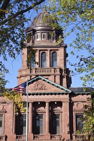 langdale: Langdale County historic building in Antigo, Wisconsin.