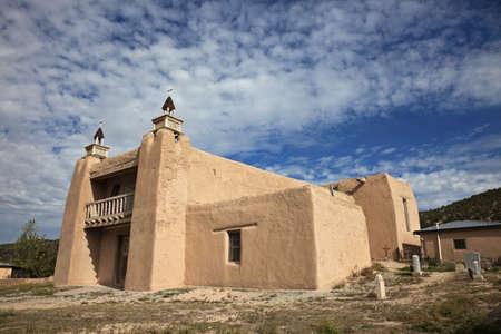 nm: Church in Las Trampas, NM Editorial