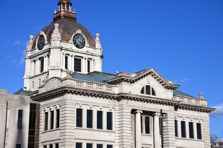 brown: Brown County Courthouse in Green Bay, Wisconsin. Editorial