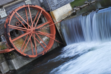 tn: Old Mill in Pigeon Forge - Smoky Mountains area Stock Photo